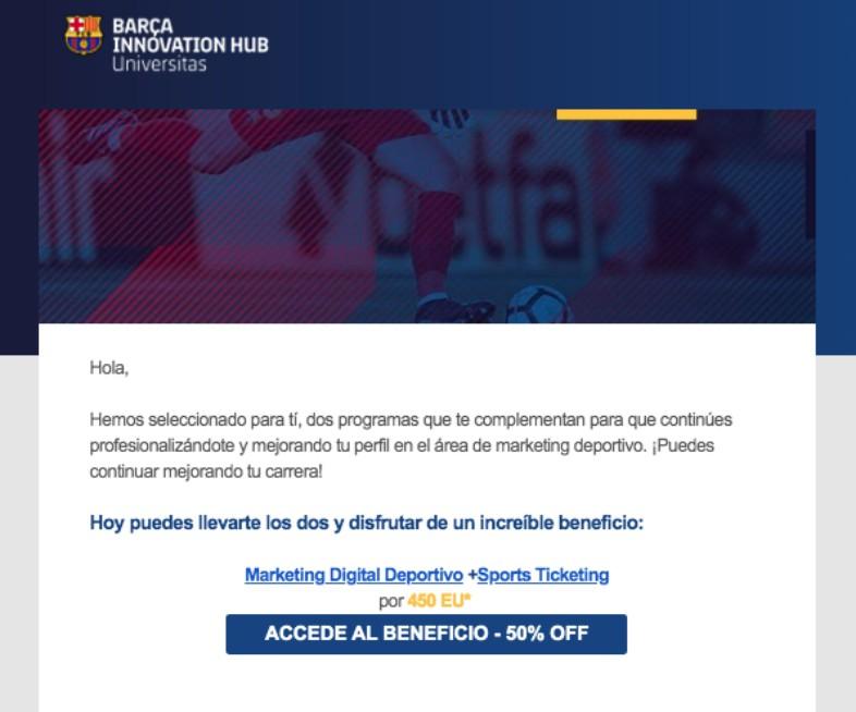 campañas de email para captar asistentes a webinars
