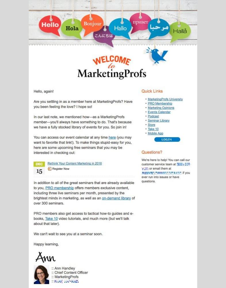 Producto digital por email