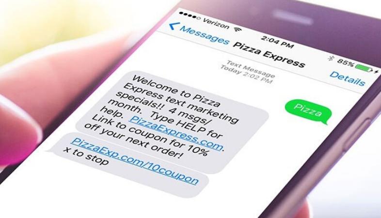 SMS cupon