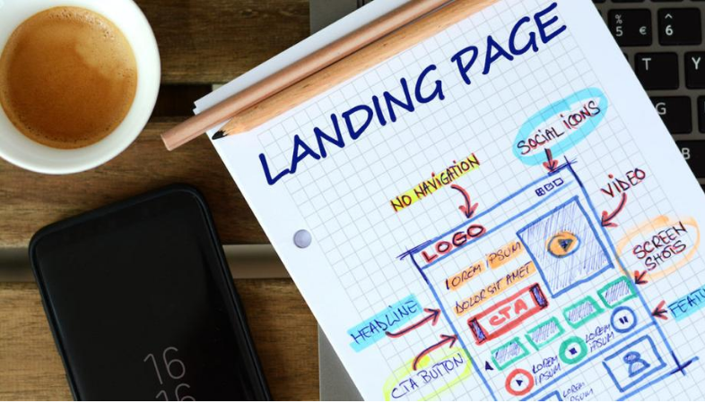 creare la tua landing page