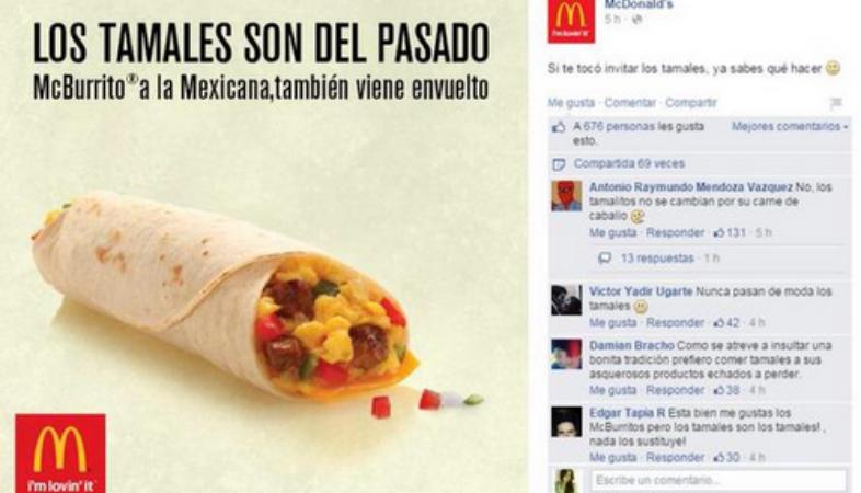 McDonald's México campagne