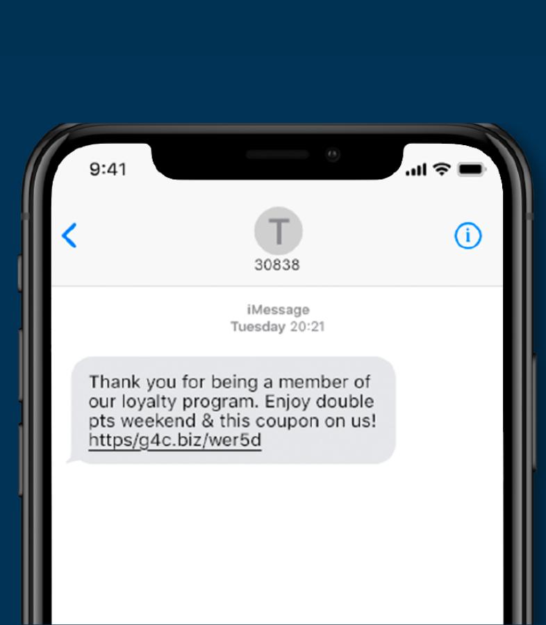 Programas de puntos SMS