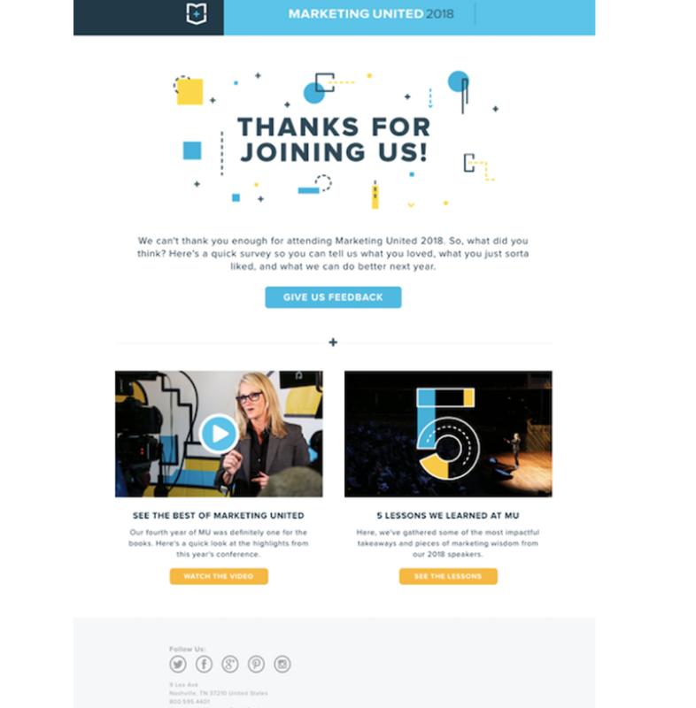 email di ringraziamento efficaci