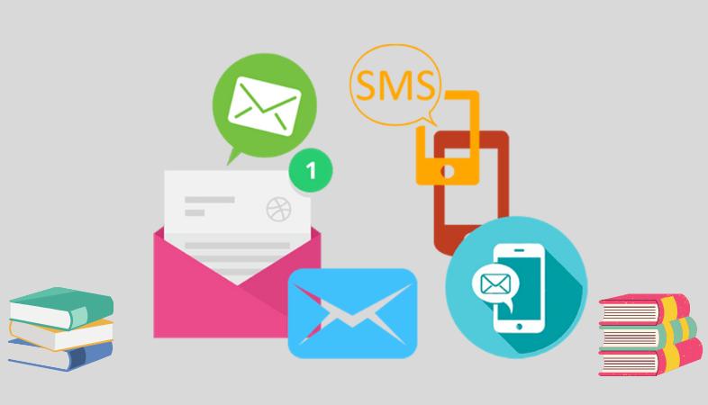 Email e SMS Marketing per attirare gli studenti