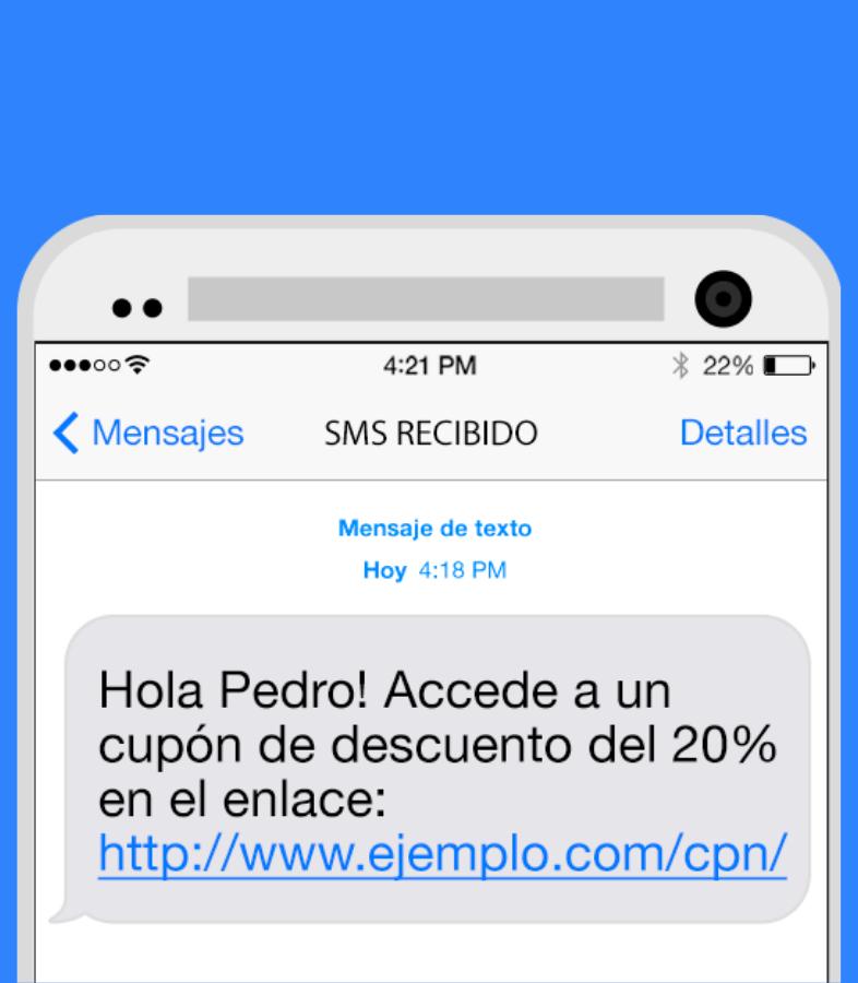 SMS DE DESCUENTO