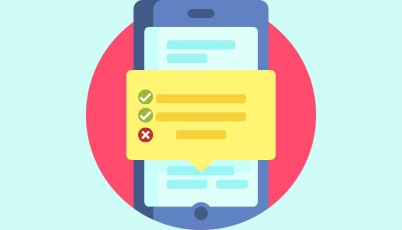 encuesta por SMS