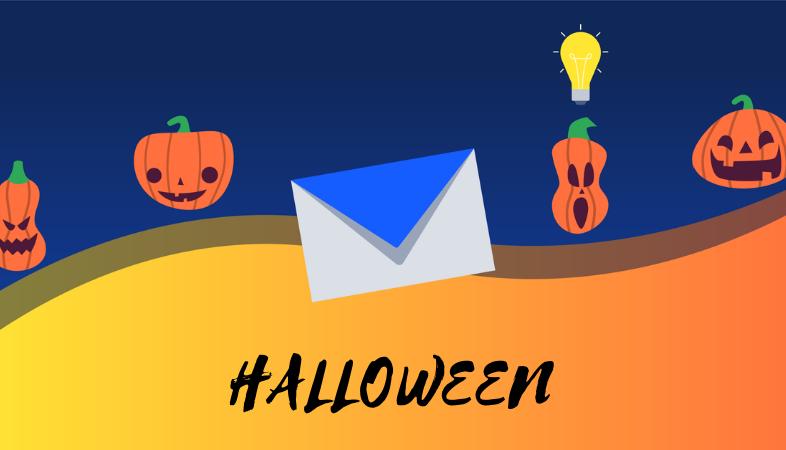 emails para Halloween