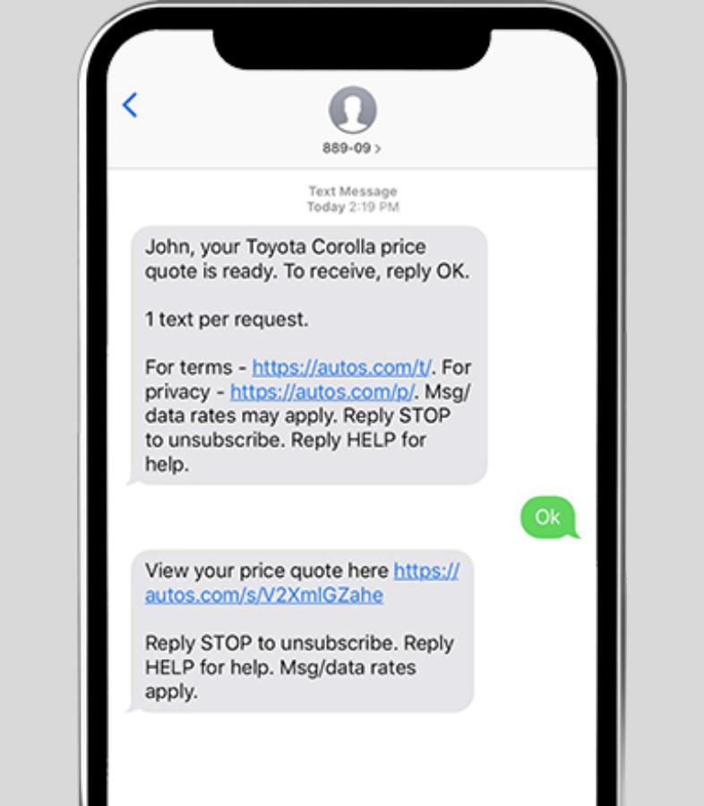 Fornisci un servizio clienti via SMS