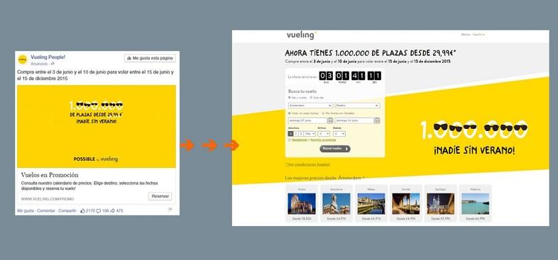 esempio di Google Ads en Landing Page