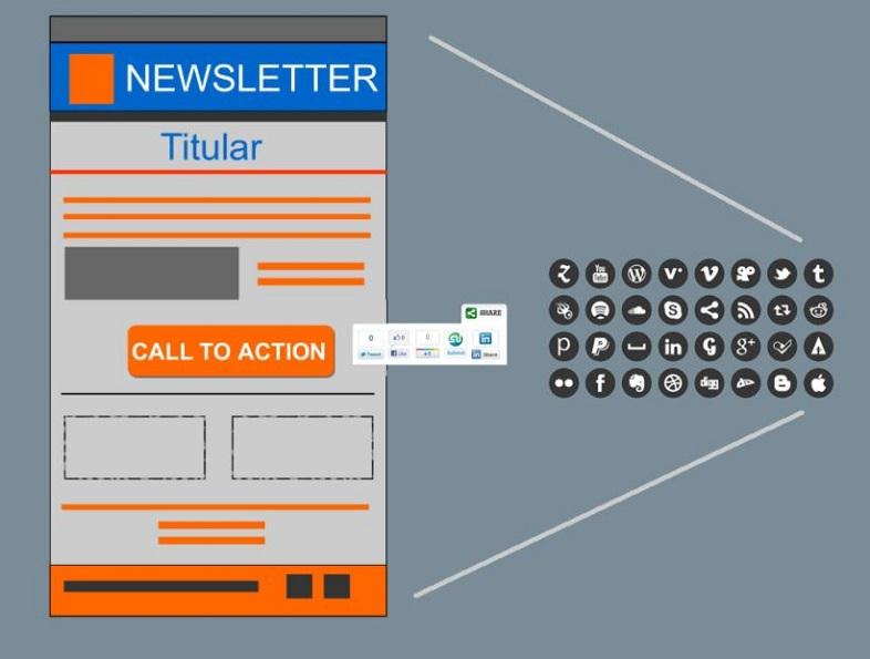 struttura di una newsletter