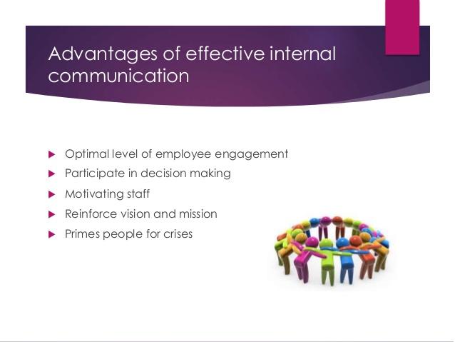 vantaggi della comunicazione interna