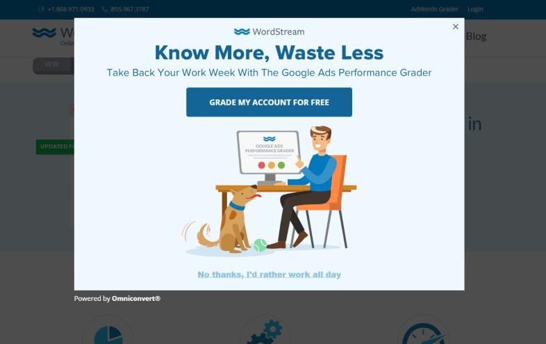 Integrar pop-ups en la web