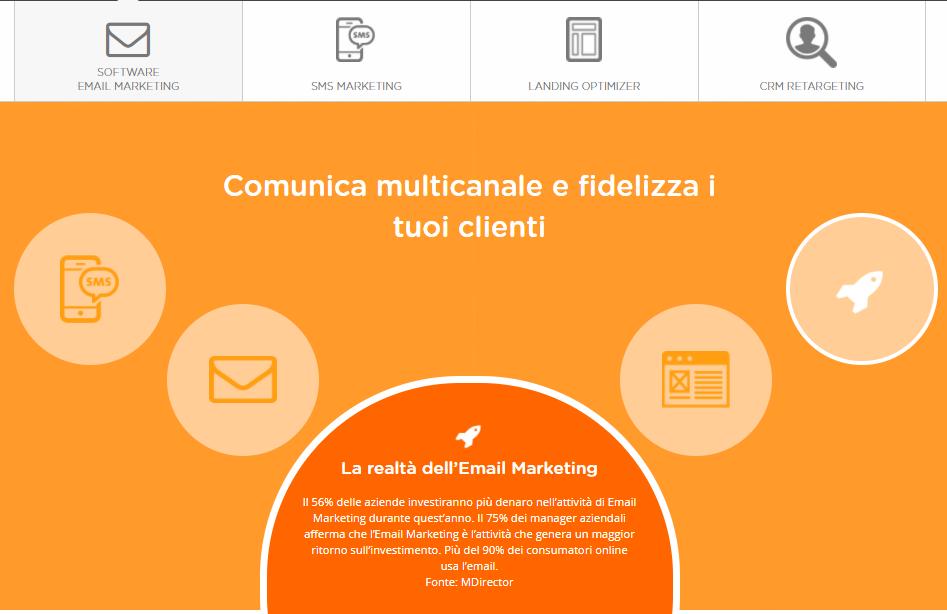 strumento email marketing professionale