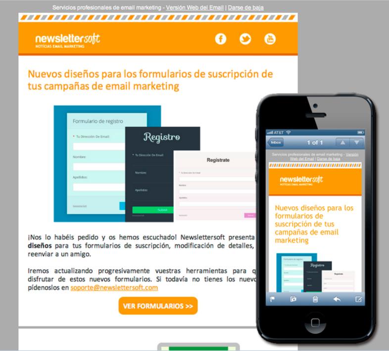 Diseño responsive de email