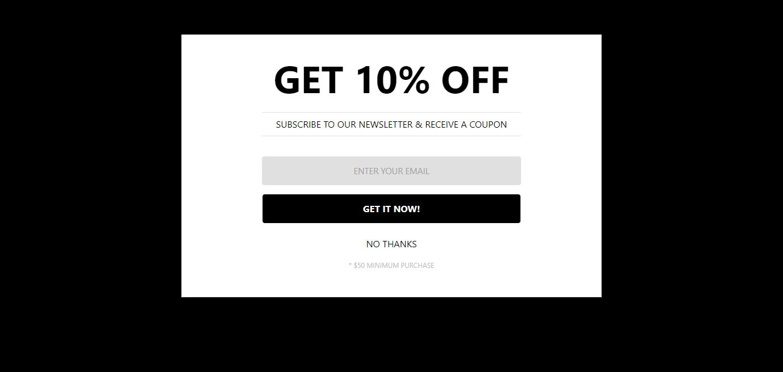 Offri un incentivo ai tuoi utenti