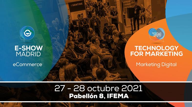 calendario de marketing de 2021: eshow Madrid