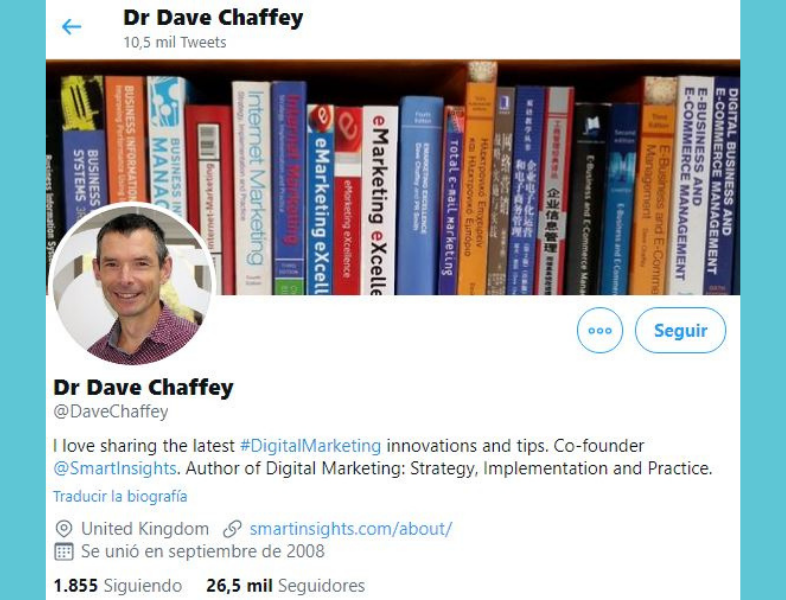 influencers en email marketing: Dave Chaffey