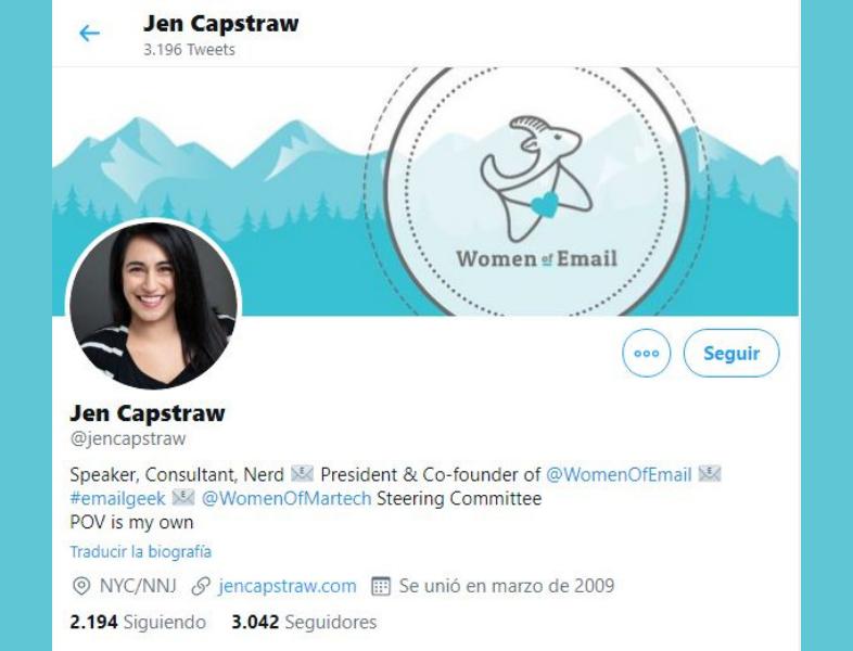 Jen Capstraw de Women of Email