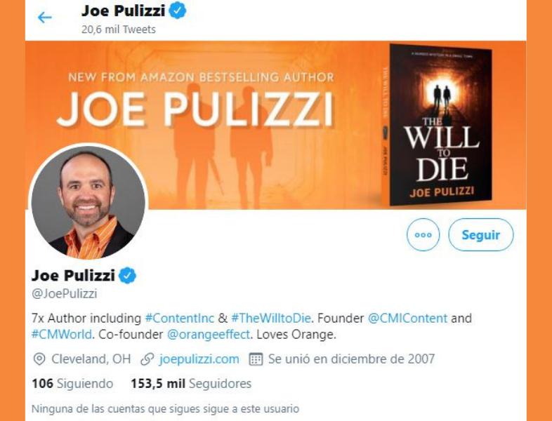 Twitter Joe Pulizzi