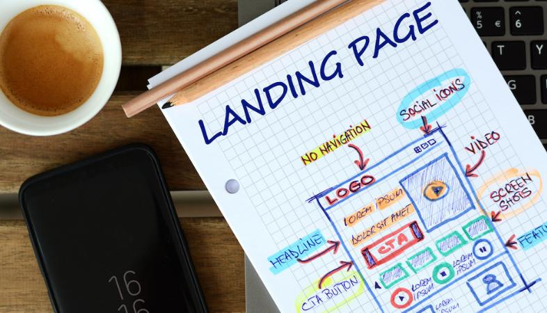 landing page sin saber programar