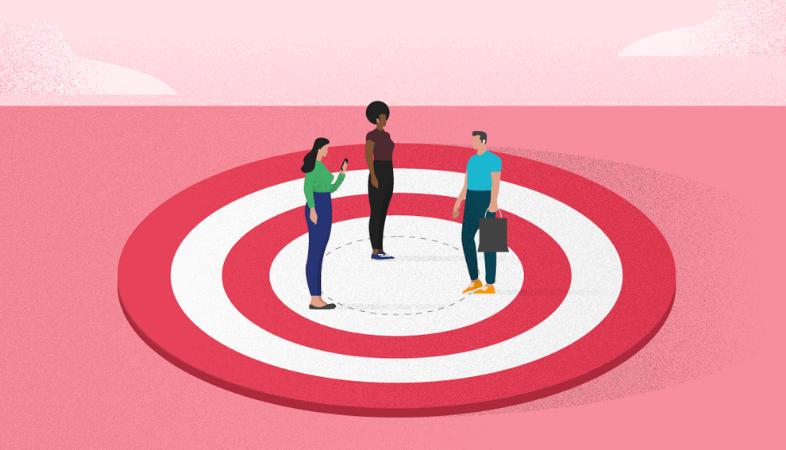 Organizza e segmenta il tuo pubblico target