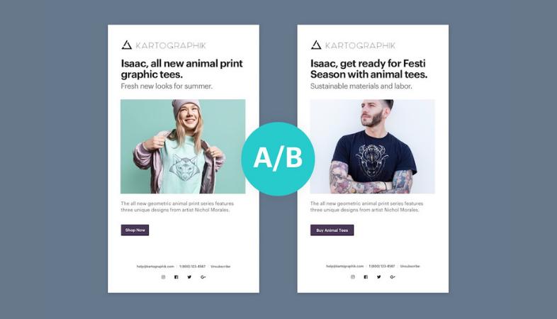 Eseguire A / B test