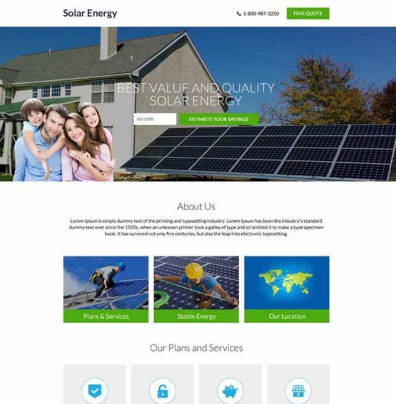 Concentra la tua proposta di valore su una landing page per il settore energetico