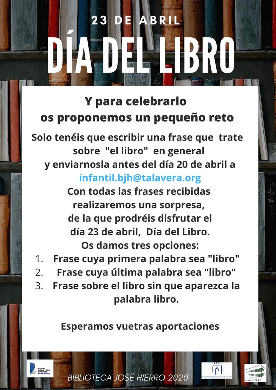 email marketing día del libro: Biblioteca José Hierro