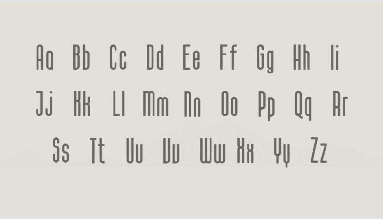 Calama: nuevas tipografías