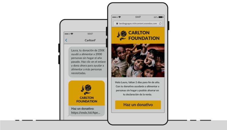 Come creare una campagna di raccolta fondi di solidarietà via SMS