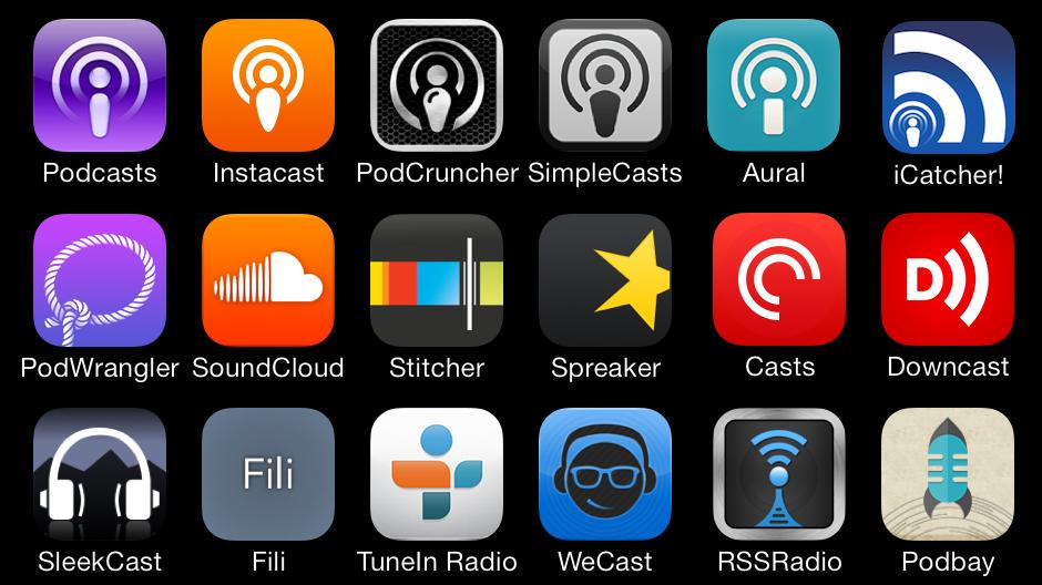 Stabilisci quali canali di trasmissione servono per i tuoi podcast