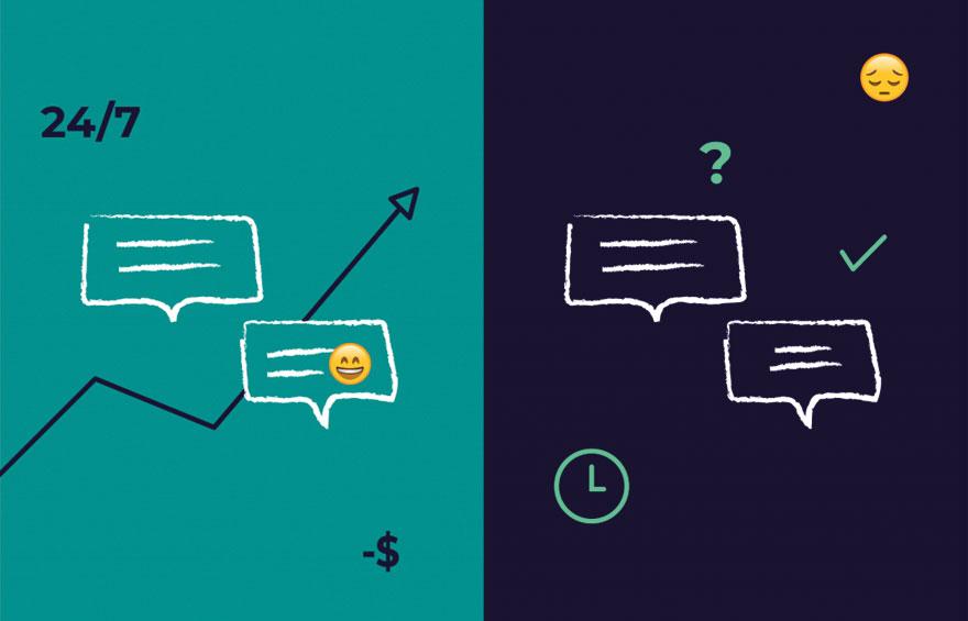 Pro e contro dell'utilizzo dei chatbot nella tua strategia