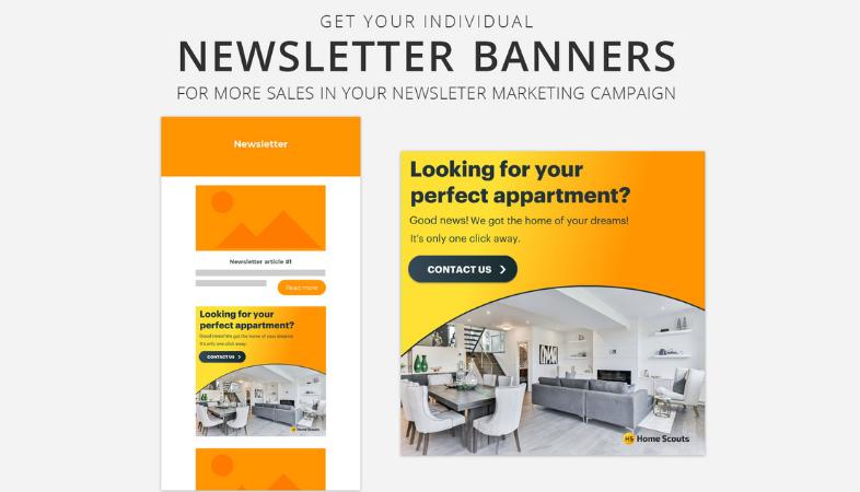 Banners en newsletters