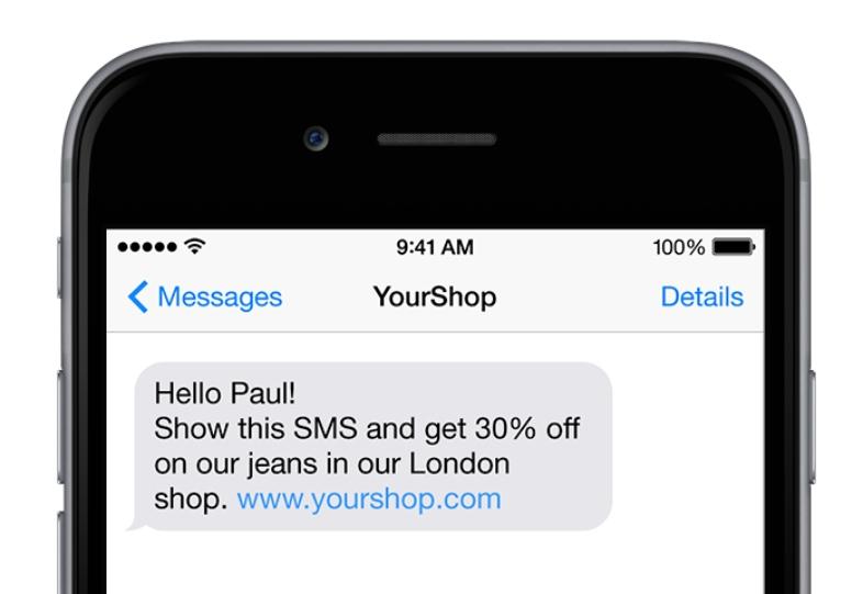campaña de notoriedad de marca con SMS Markerting.