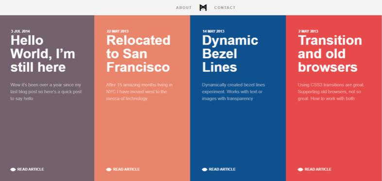 Equilibrio entre diseño plano e interactivo