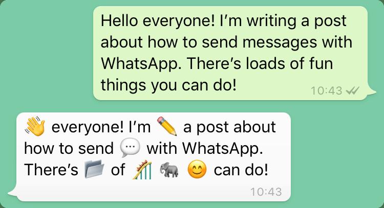 Uso eccessivo di emoji