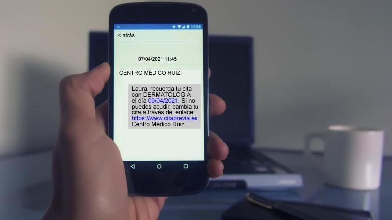 Remitente identificable en los SMS