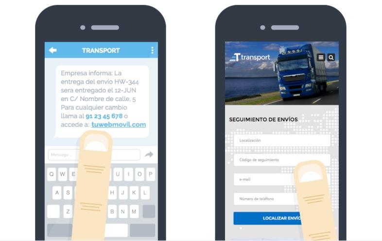 strategia sms marketing trasporti