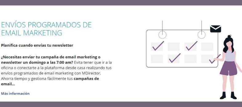 Plataforma de email marketing: Automatización de los envíos