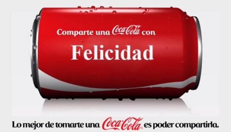 Ejemplo de campaña emocional de Coca-Cola