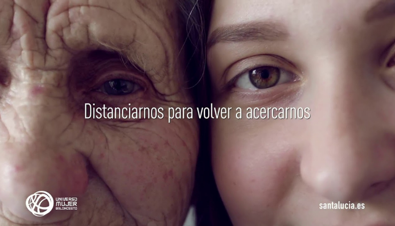 Ejemplo de campaña emocional de Santalucía