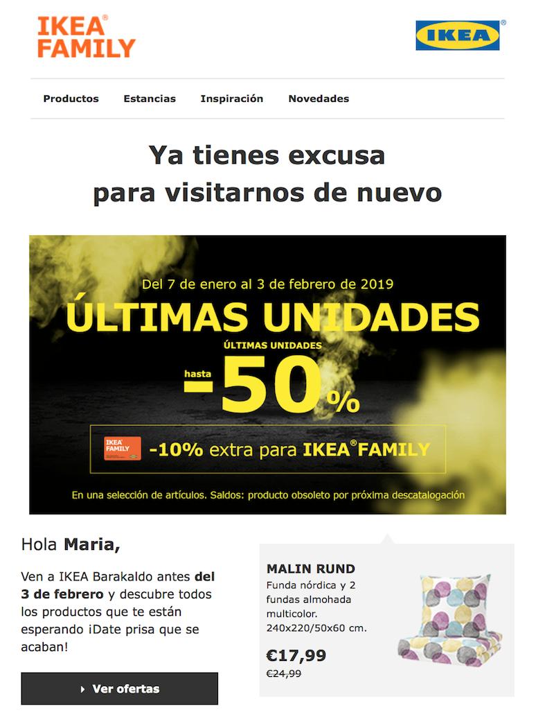 Personalización de las comunicaciones de email marketing