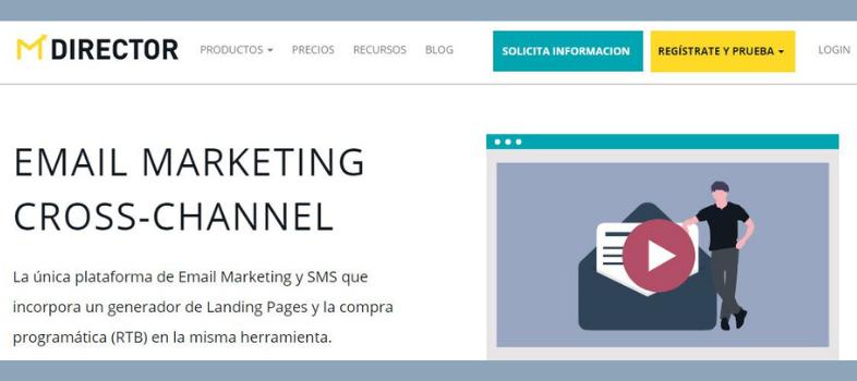 Plataforma de email marketing: Integración de varios canales