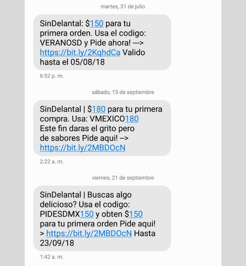 messaggi utenti